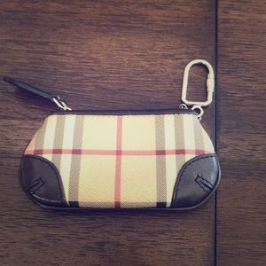 Burberry keychain/cardholders